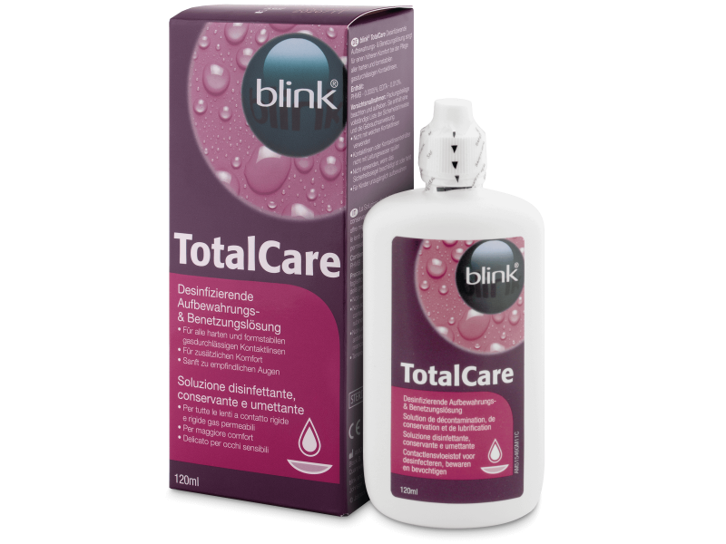 Total Care 120 ml Piilolinssineste
