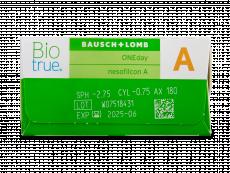 Biotrue ONEday for Astigmatism (90 kpl)
