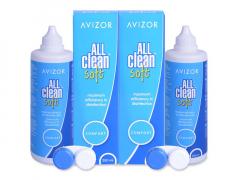 Avizor All Clean Soft linssineste 2x 350 ml