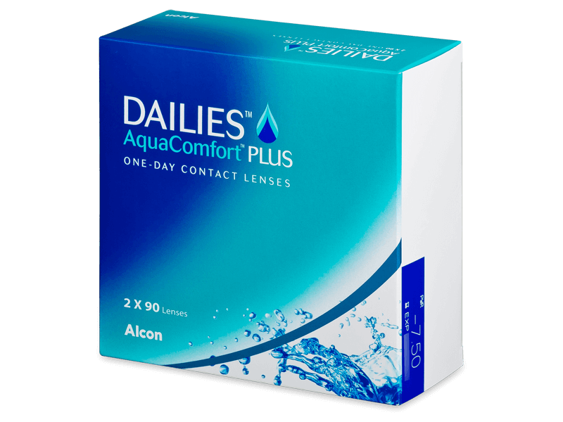 Dailies AquaComfort Plus (180kpl)