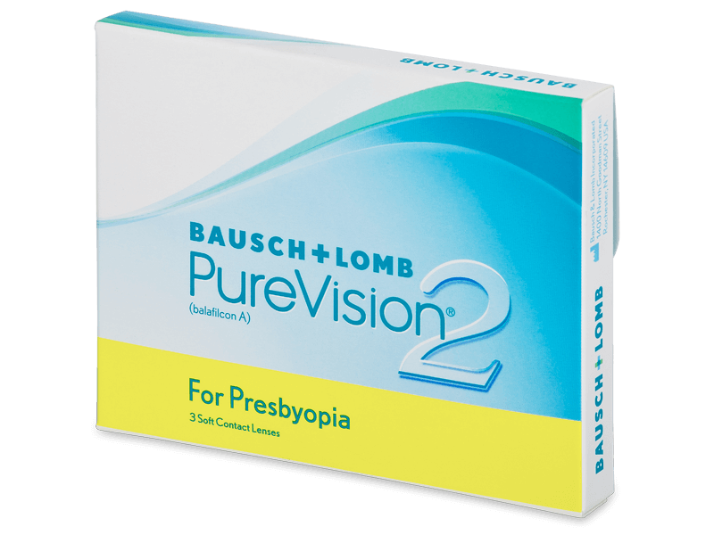 PureVision 2 for Presbyopia (3 kpl)