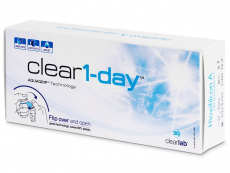 Clear 1-Day (30 kpl)