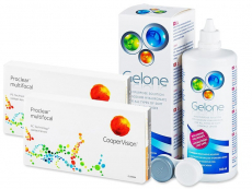 Proclear Multifocal XR (2x3 kpl) + Gelone -piilolinssineste 360 ml
