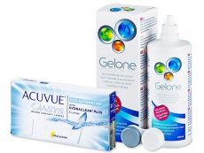 Acuvue Oasys for Astigmatism (6 kpl) + Gelone 360 ml