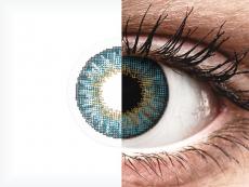 Siniset piilolinssit - tehoilla - Air Optix (2kpl)