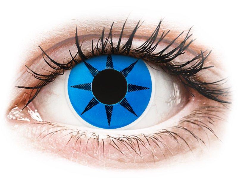 Siniset Star piilolinssit - ColourVue Crazy (2 kpl)