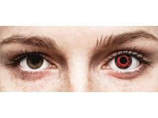 Punaiset Madara piilolinssit - ColourVue Crazy (2 kpl)