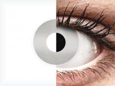 Valkoiset Mirror piilolinssit - ColourVue Crazy (2 kpl)