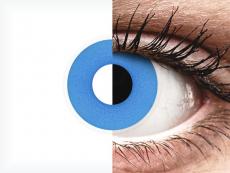 Siniset Sky piilolinssit - ColourVue Crazy (2 kpl)
