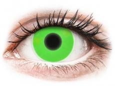 Vihreät Glow piilolinssit - ColourVue Crazy (2kpl)
