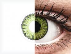 Kirkkaan Vihreät piilolinssit - tehoilla - TopVue Color (10kpl)