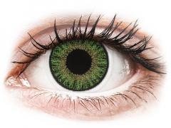 Vihreät piilolinssit - tehoilla - TopVue Color (10kpl)