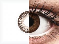 Ruskeat piilolinssit - tehoilla - TopVue Color (2kpl)