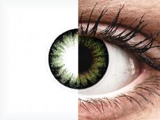 Vihreät Party piilolinssit - ColourVUE BigEyes (2kpl)