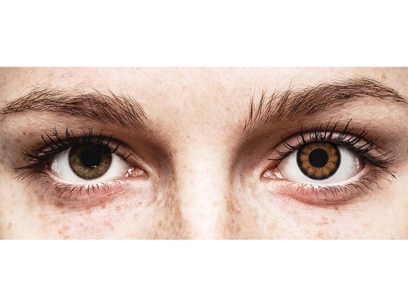Ruskeat piilolinssit - ColourVUE BigEyes (2kpl)