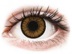 Ruskeat India piilolinssit - SofLens Natural Colors - Tehoilla (2 kpl)