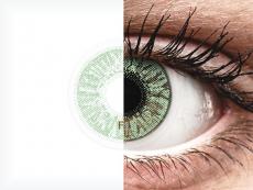 Vihreät piilolinssit - FreshLook Colors (2 kpl)