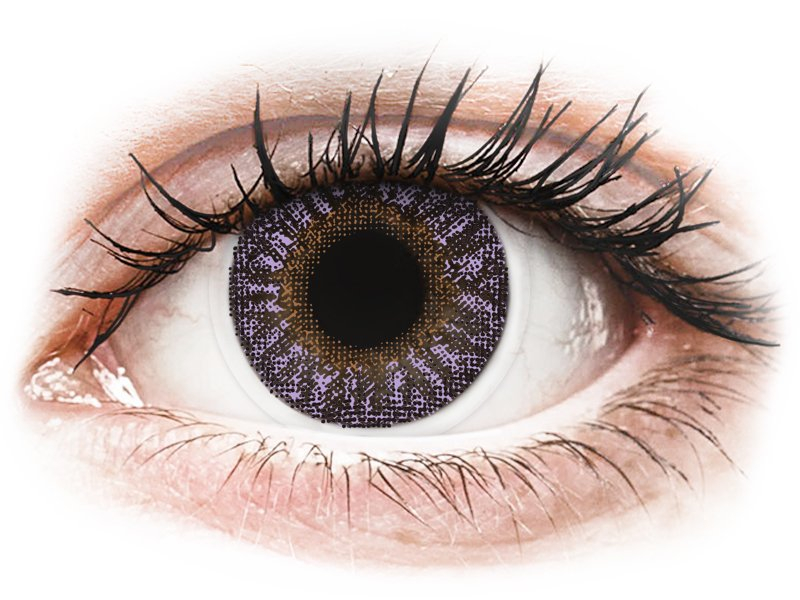 Violet piilolinssit - tehoilla - TopVue Color (2kpl)