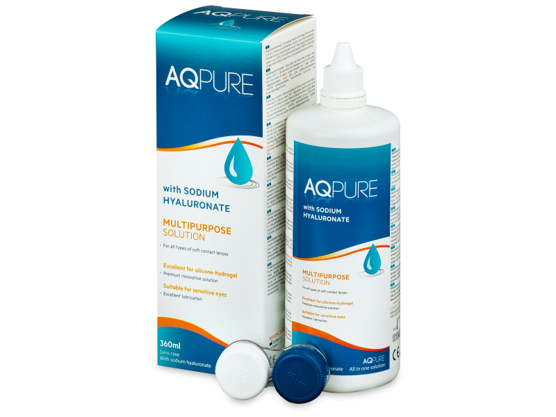 AQ Pure -piilolinssineste 360 ml