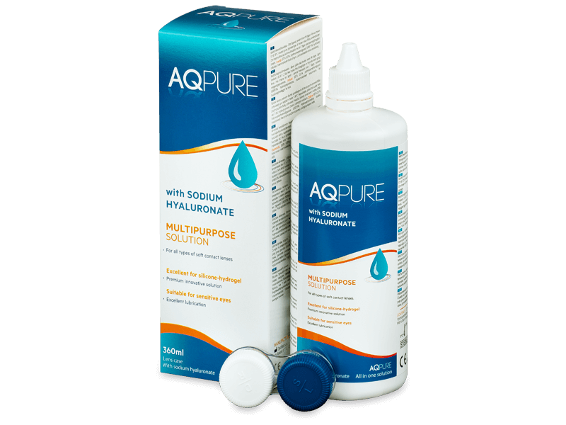 AQ Pure -piilolinssineste 360ml
