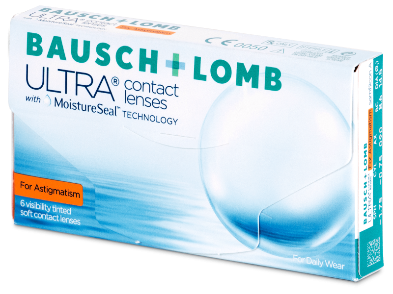 Bausch + Lomb ULTRA for Astigmatism (6 kpl)