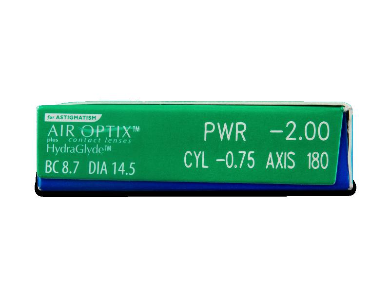 Air Optix plus HydraGlyde for Astigmatism (6 linssiä)