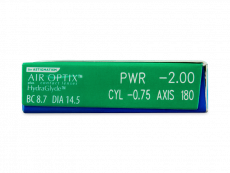 Air Optix plus HydraGlyde for Astigmatism (3 linssiä)