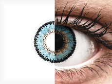 Siniset Aqua 3 Tones linssit - ColourVUE (2kpl)