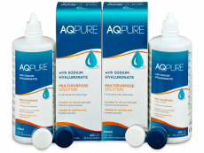 AQ Pure -piilolinssineste 2 x 360 ml