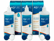 AQ Pure -piilolinssineste 3 x 360 ml