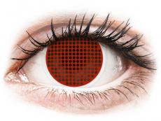 Red Screen piilolinssit - ColourVue Crazy (2kpl)