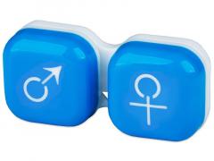Piilolinssikotelo man&woman - sininen