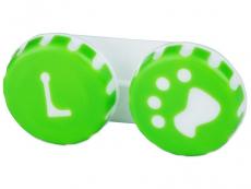 Piilolinssikotelo Tassu vihreä