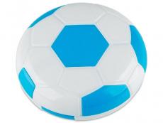 Piilolinssikotelo Football peilillä - sininen