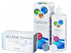 Acuvue Oasys (24 kpl) + Gelone-piilolinssineste 360 ml