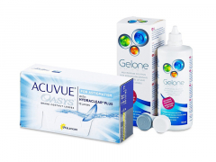 Acuvue Oasys for Astigmatism (12 kpl) + Gelone-piilolinssineste 360 ml