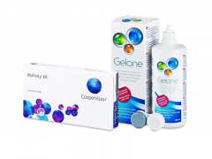 Biofinity XR (3 kpl) + Gelone-piilolinssineste 360 ml