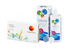 Proclear Multifocal (6 kpl) + Gelone-piilolinssineste 360 ml