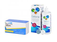 SofLens Multi-Focal (3 kpl) + Gelone-piilolinssineste 360 ml