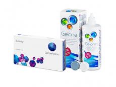 Biofinity (3 kpl) + Gelone-piilolinssineste 360 ml