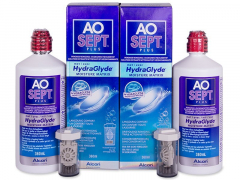 AO SEPT PLUS HydraGlyde -piilolinssineste 2x360ml