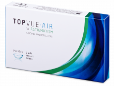 TopVue Air for Astigmatism (3 kpl)