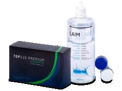 TopVue Premium for Astigmatism (6kpl) +Laim-Care-piilolinssineste400ml