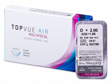 TopVue Air Multifocal (1 kpl)