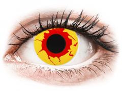 Reignfire kertakäyttö piilolinssit - ColourVue Crazy - Kertakäyttö (2 gekleurde daglenzen)