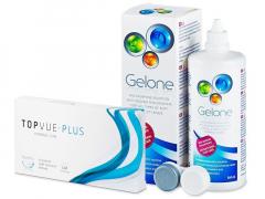 TopVue Monthly PLUS (6 kpl) +Gelone-piilolinssineste360ml