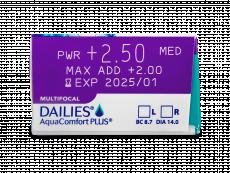 Dailies AquaComfort Plus Multifocal (90kpl)