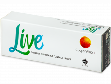 Live Daily Disposable (30 linssiä)