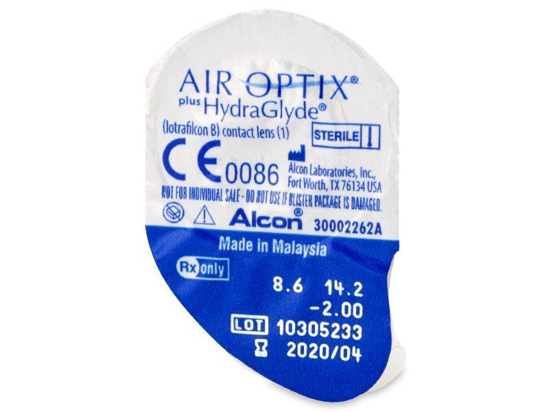 Air Optix plus HydraGlyde (6 kpl)
