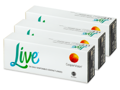 Live Daily Disposable (90 linssiä)